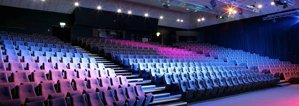 Conference Theatre with space for up to 550 delegates