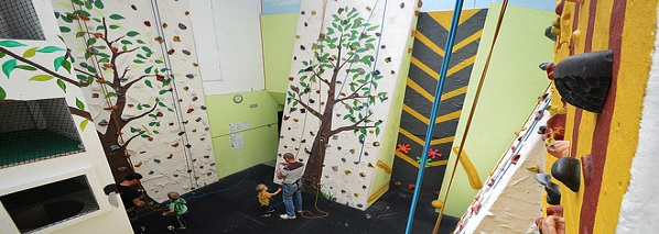 The Burrow at Nottingham Climbing Centre